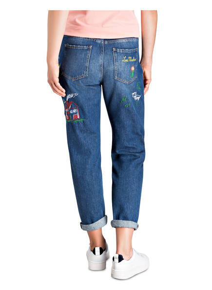 Moschino Boyfriend Love jeans Denim Blue FSxqd