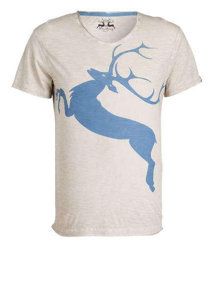 Wiesnkönig T-Shirt , Farbe: HELLGRAU/ HELLBLAU (Bild 1)