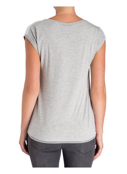 soyaconcept T-Shirt im Materialmix