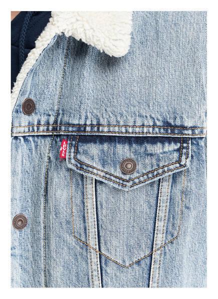 Levi's® Jeansjacke TRUCKER mit Teddyfell-Futter