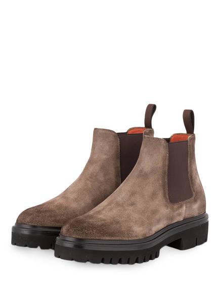 Santoni Chelsea-Boots, Farbe: BRAUN (Bild 1)