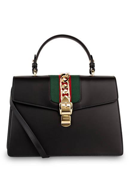 GUCCI Handtasche SYLVIE, Farbe: SCHWARZ (Bild 1)