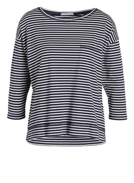 mey Lounge-Shirt Serie NIGHT2DAY, Farbe: NAVY/ OFFWHITE GESTREIFT (Bild 1)