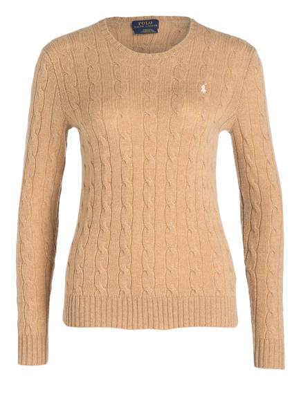 POLO RALPH LAUREN Pullover , Farbe: CAMEL MELIERT (Bild 1)