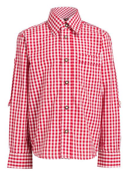 KRÜGER Trachtenhemd, Farbe: ROT/ WEISS KARIERT (Bild 1)