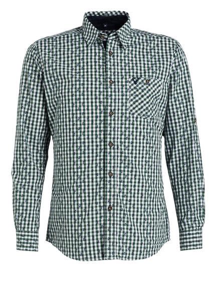 KRÜGER Trachtenhemd , Farbe: 105 weiß-grün (Bild 1)