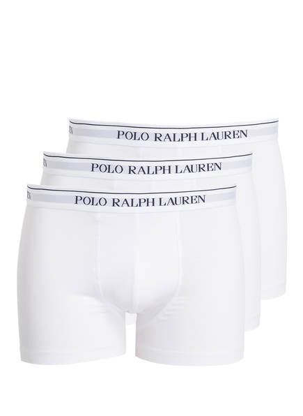 POLO RALPH LAUREN 3er-Pack Boxershorts, Farbe: WEISS (Bild 1)