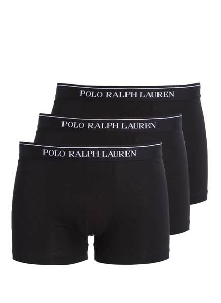 POLO RALPH LAUREN 3er-Pack Boxershorts, Farbe: SCHWARZ (Bild 1)