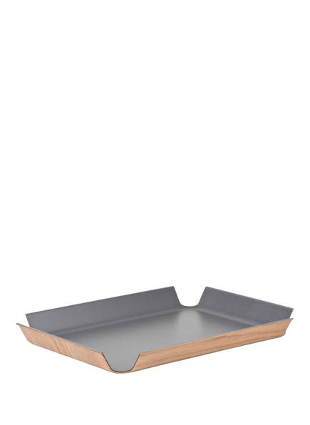 CONTINENTA Tablett, Farbe: GRAU/ BEIGE  (Bild 1)