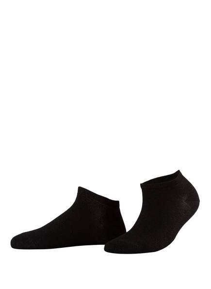 FALKE Sneakersocken SHINY, Farbe: 3000 BLACK (Bild 1)