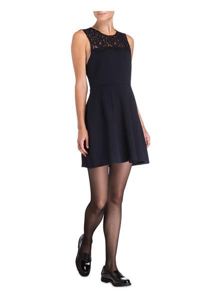 CLAUDIE PIERLOT Kleid mit Spitzenbesatz RABELAIS