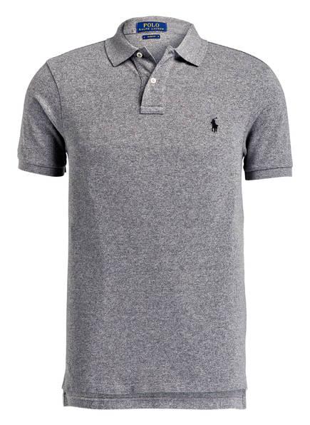 POLO RALPH LAUREN Piqué-Poloshirt Slim Fit, Farbe: GRAU MELIERT (Bild 1)