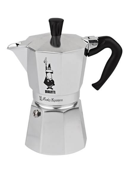 BIALETTI Espressokocher MOKA EXPRESS, Farbe: SILBER (Bild 1)