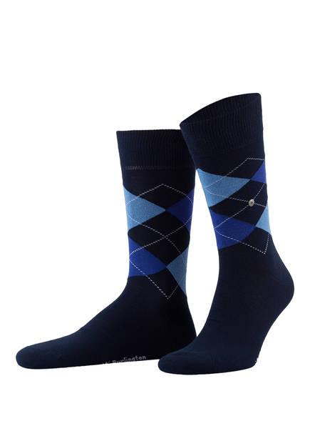 Burlington 2er-Pack Socken EVERYDAY, Farbe: 6121 MARINE (Bild 1)