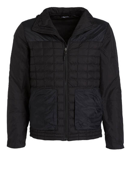 THE NORTH FACE Steppjacke THERMOBALL mit Zip-in-Funktion, Farbe: SCHWARZ (Bild 1)
