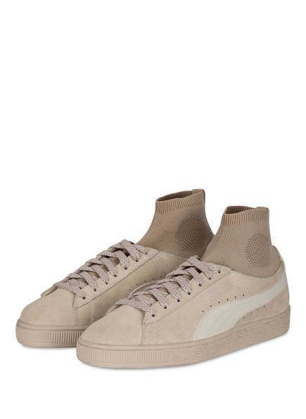 PUMA Sneaker CLASSIC SOCK, Farbe: BEIGE (Bild 1)