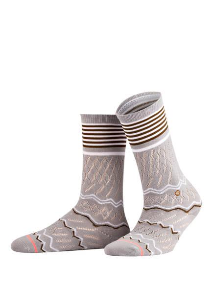 STANCE Socken MERCER, Farbe: GRAU (Bild 1)
