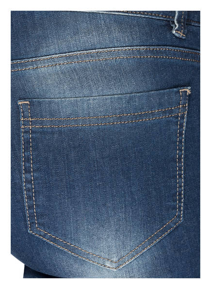 TAIFUN Jeans mit Stickereien