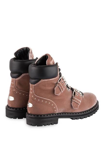 JIMMY CHOO Samt-Boots BREEZE 39