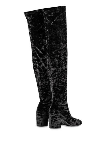 KENNEL & SCHMENGER Overknee-Stiefel RUBY aus Samt