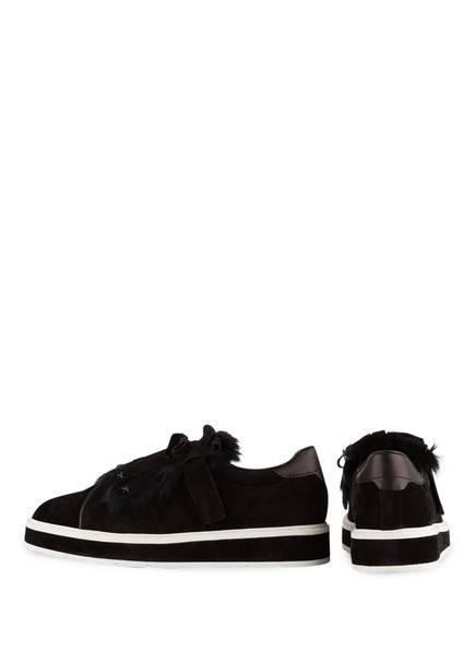 KENNEL & SCHMENGER Sneaker COOL mit Fellbesatz