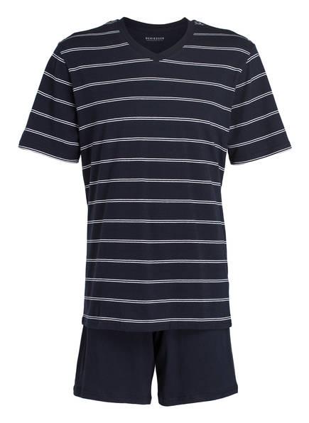 SCHIESSER Shorty-Schlafanzug, Farbe: DUNKELBLAU (Bild 1)