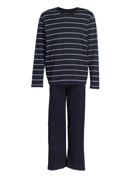 SCHIESSER Schlafanzug, Farbe: DUNKELBLAU (Bild 1)