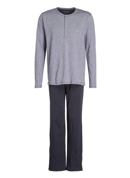 SCHIESSER Schlafanzug, Farbe: ANTHRAZIT (Bild 1)