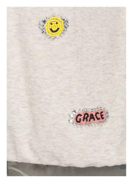 Grace Sweatshirt mit Schmucksteinbesatz