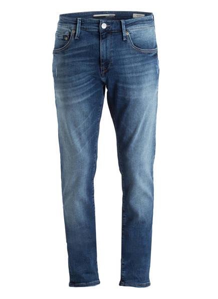 mavi Jeans JAMES Skinny Fit, Farbe: 23429 MID BRUSHED ULTRA MOVE BLUE (Bild 1)