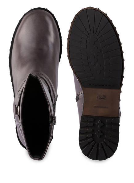 ELVIO ZANON Boots mit Nietenbesatz
