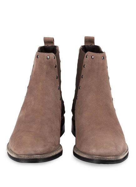 ELVIO ZANON Chelsea-Boots mit Nietenbesatz