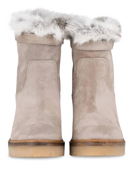 Alpe Boots mit Fellbesatz<br>         gef&uuml;ttert