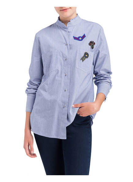 MARC AUREL Bluse mit Patches