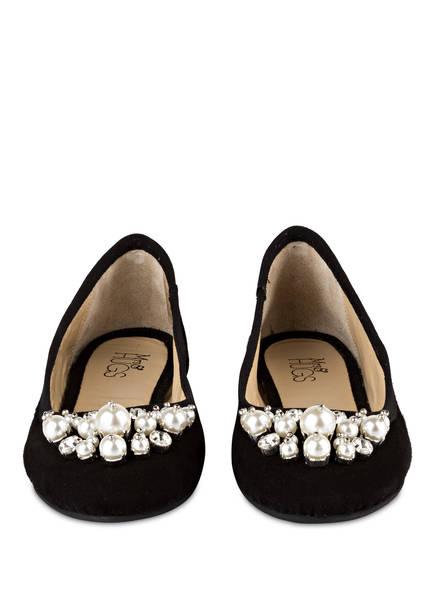 Mrs & HUGS Ballerinas mit Perlenbesatz
