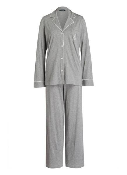 LAUREN RALPH LAUREN Schlafanzug, Farbe: GRAU (Bild 1)
