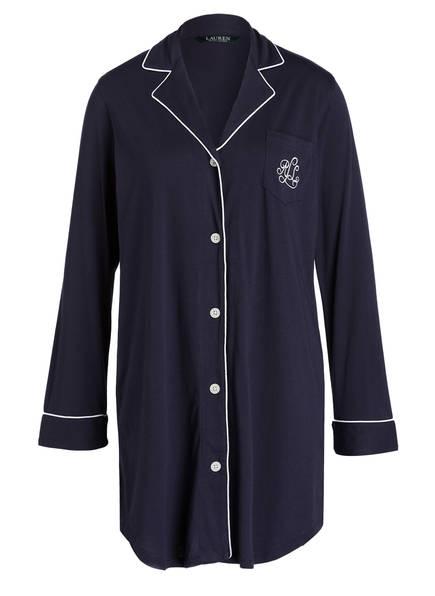 LAUREN RALPH LAUREN Nachthemd HAMMOND, Farbe: NAVY (Bild 1)