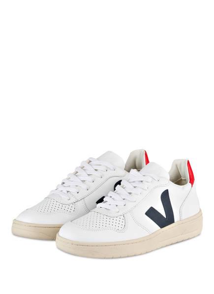 VEJA Sneaker V-10 , Farbe: WEISS (Bild 1)