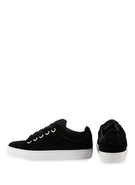 CLAUDIE PIERLOT Samt-Sneaker AZUR