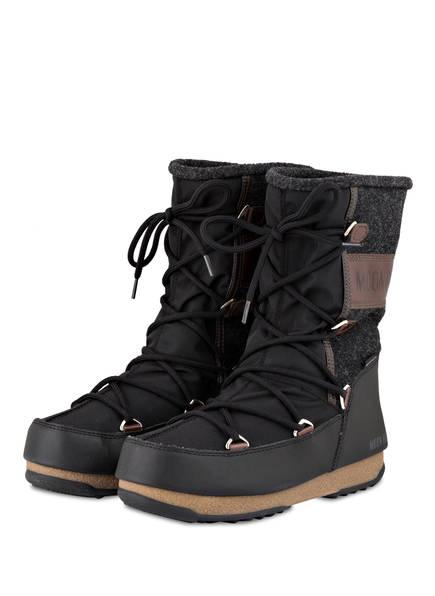MOON BOOT Moon Boots VIENNA FELT, Farbe: SCHWARZ/ BRAUN (Bild 1)