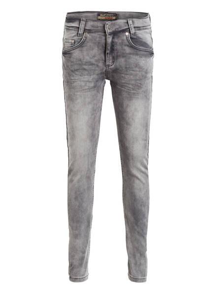 BLUE EFFECT Jeans Skinny Fit / Passformen: Slim, Regular u. Big, Farbe: GREY DENIM (Bild 1)