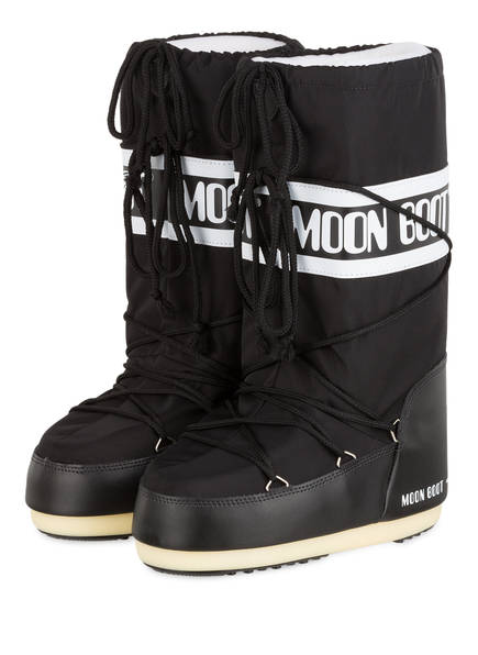 MOON BOOT Moon Boots NYLON GLANCE, Farbe: SCHWARZ (Bild 1)