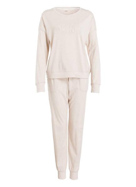 DKNY Schlafanzug NEW SIGNATURE, Farbe: CREME (Bild 1)