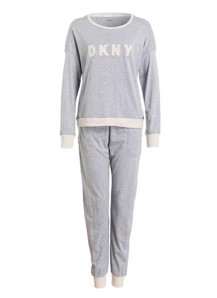 DKNY Schlafanzug NEW SIGNATURE, Farbe: GRAU (Bild 1)