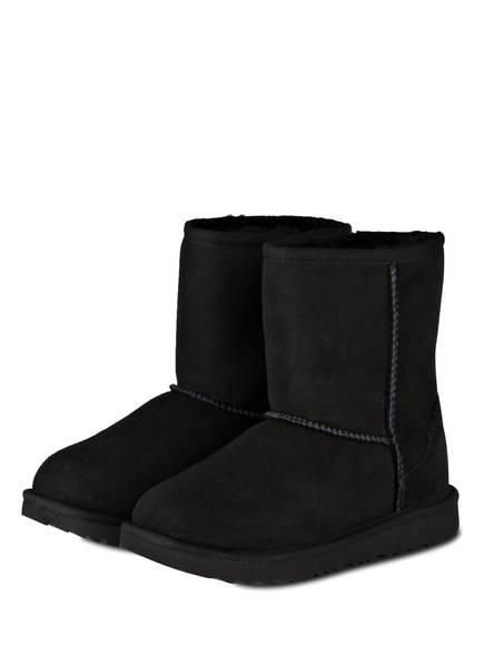 UGG Fell-Boots CLASSIC SHORT II, Farbe: SCHWARZ (Bild 1)