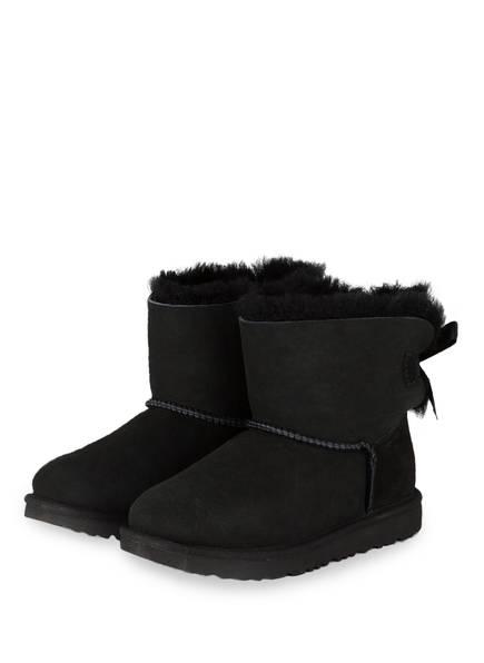 UGG Boots MINI BAILEY BOW, Farbe: SCHWARZ (Bild 1)