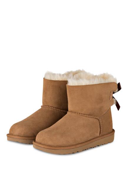 UGG Boots MINI BAILEY BOW, Farbe: KASTANIE (Bild 1)
