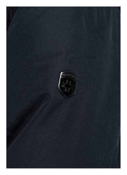 WELLENSTEYN Fieldjacket LEUCHTFEUER mit abnehmbarer Kapuze und Besatz in Pelzoptik