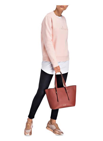 Calvin Klein Shopper<br>           mit herausnehmbarer Innentasche