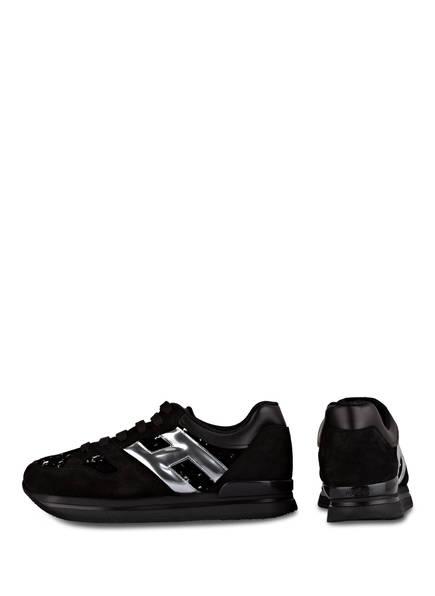 HOGAN Sneaker H222 mit Pailettenbesatz